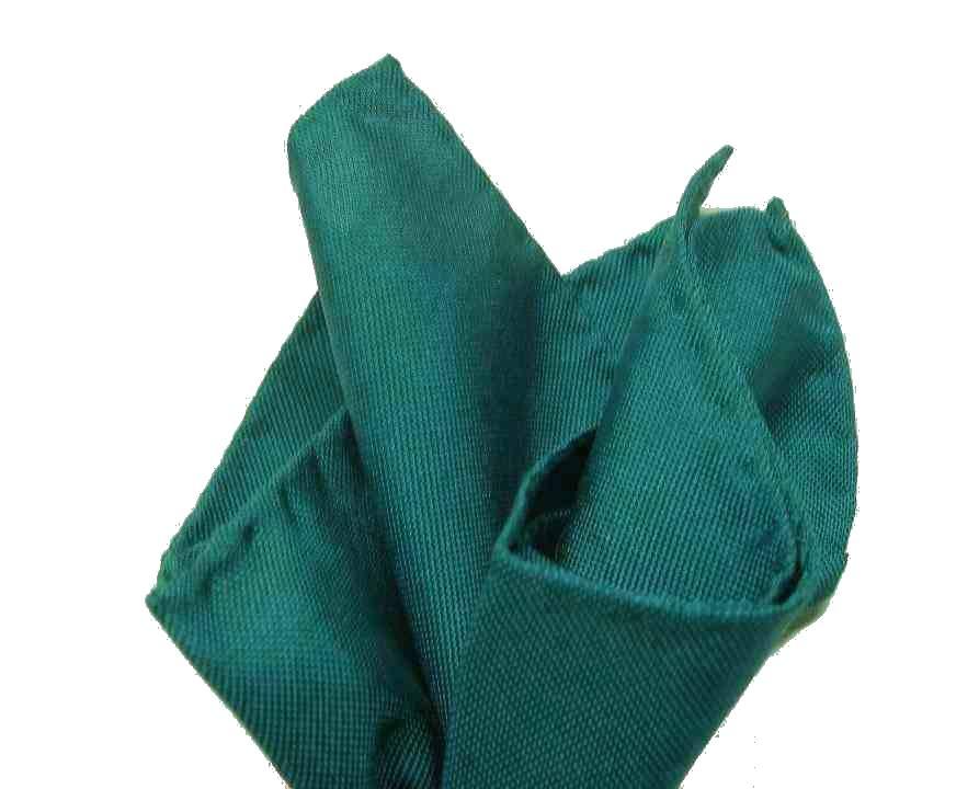 83f7f64f2b Fazzoletto da taschino uomo pochette da tasca blu avio petrol tinta unita  italy