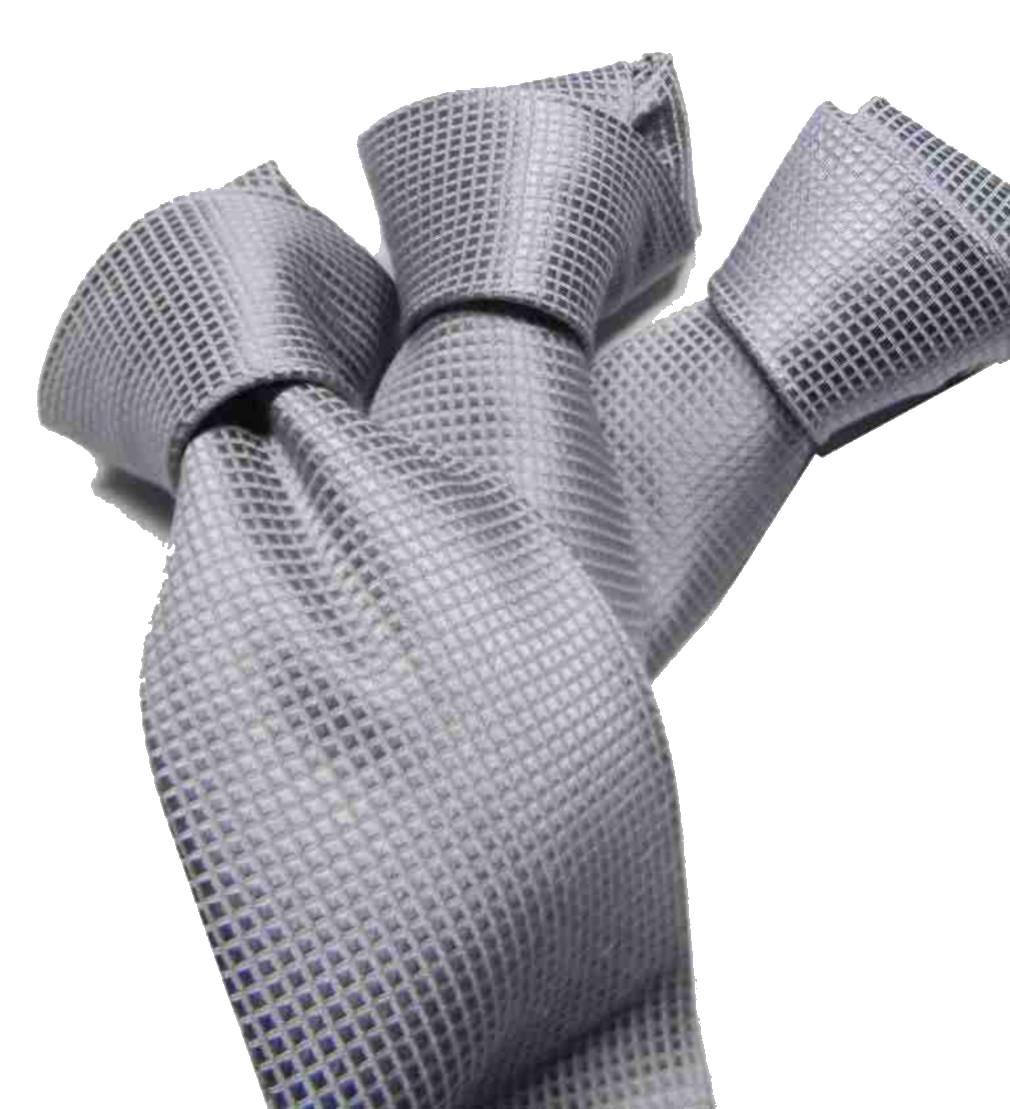 anteprima di fornire un sacco di volume grande Cravatta grigio chiaro seta italy cerimonia cravatte grigie ...