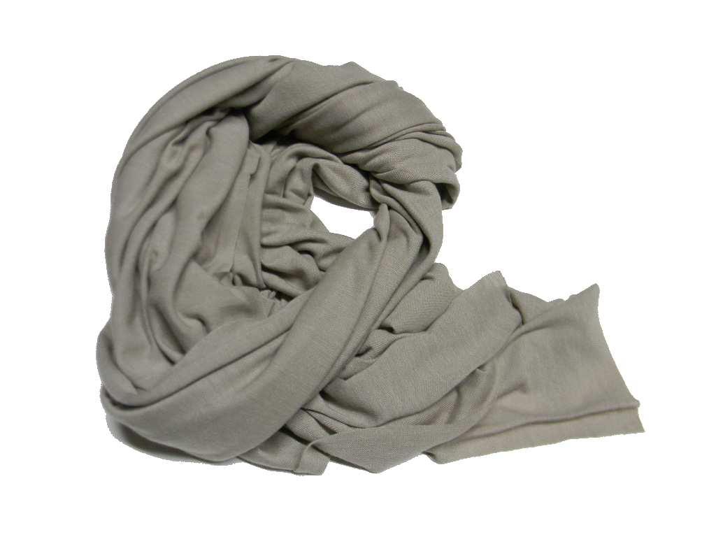 molto carino c0159 9bdb3 Pashmina uomo donna tortora tutte le stagioni sciarpa morbida made in italy
