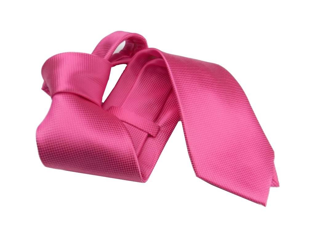 Cravatta A Tinta Unica Fuxia Cravatte Pink Shock Colori Forti Fluo