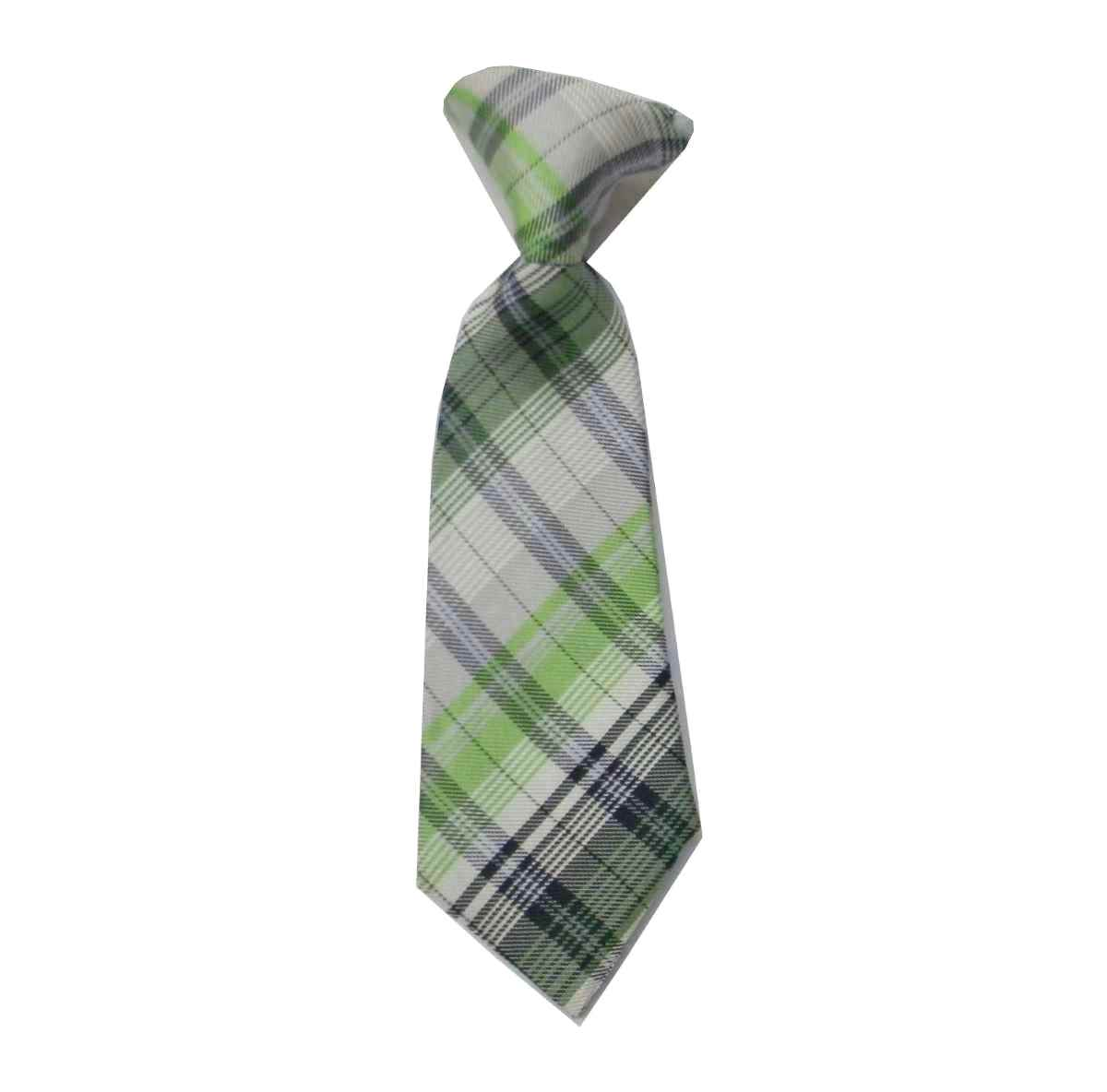 Cravatta-da-bambino-a-quadri-con-elastico-bimbo-battesimo-fino-3-anni-pura-seta