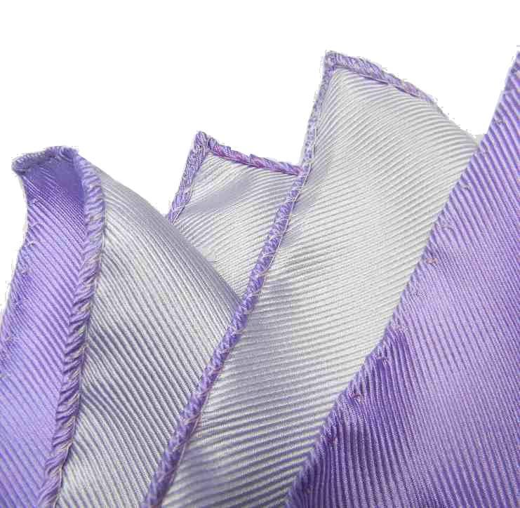 ce94dfc0db Fazzoletto da taschino uomo pochette di seta da tasca per giacca uni lilla  viola