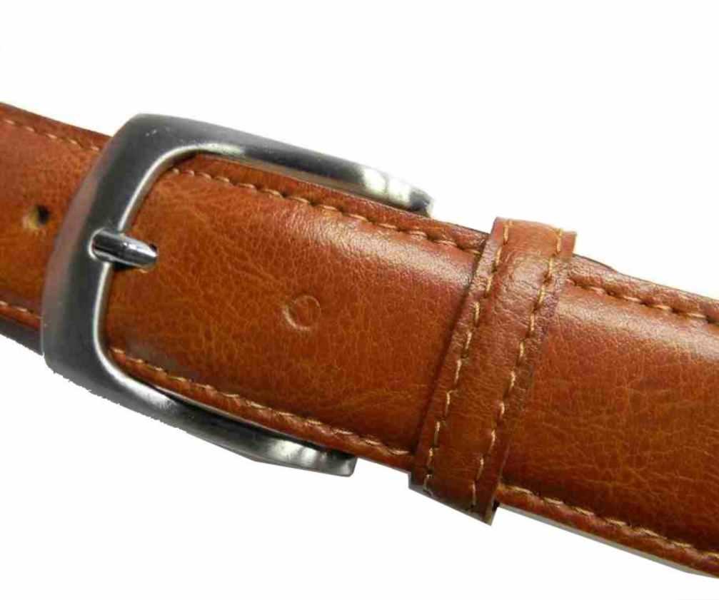 sito affidabile 2ff1e 9972b Dettagli su CINTURA UOMO PELLE di qualita cuoio Made ITALY ELEGANTE lucida  operata man belt