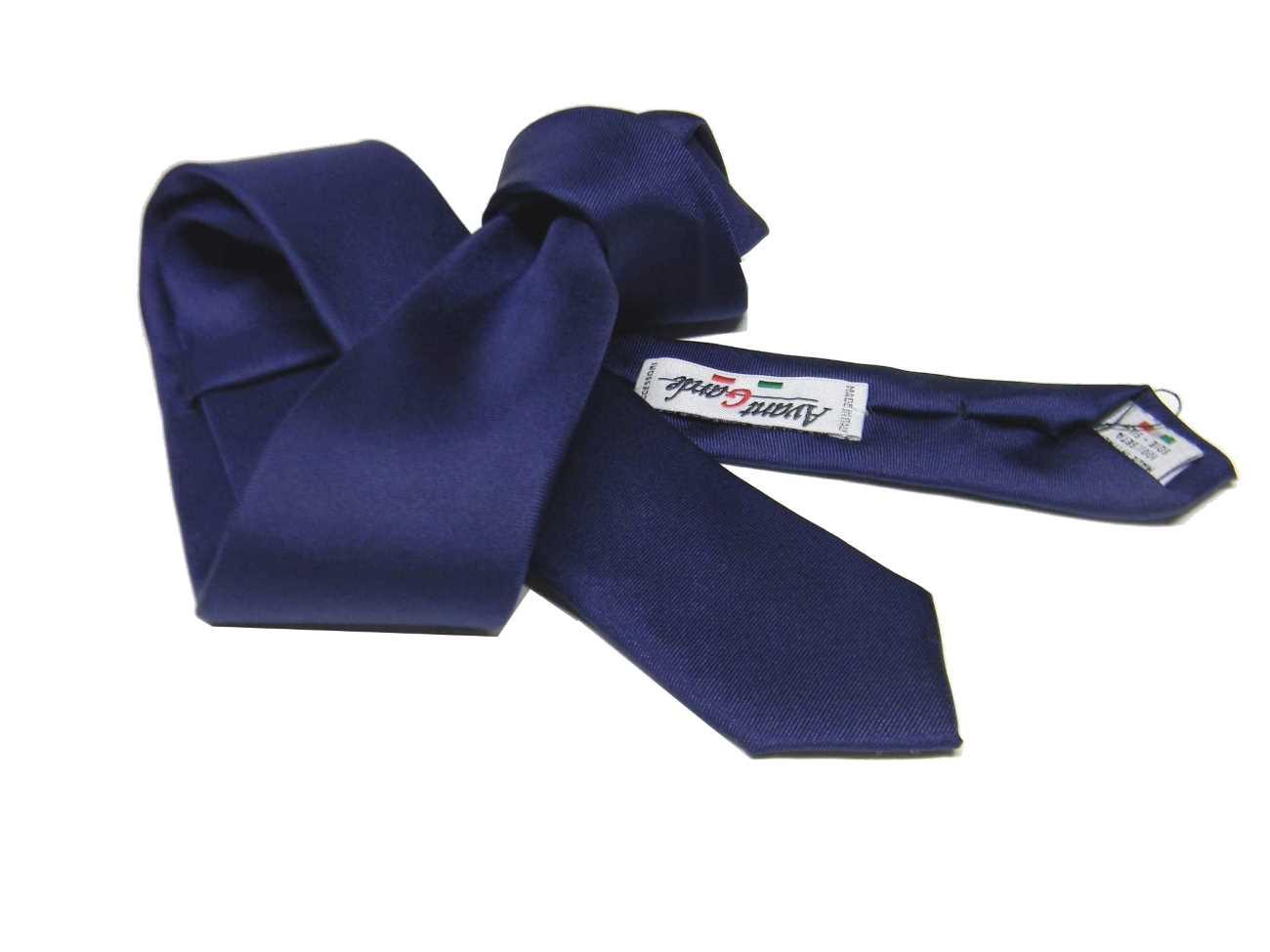 varietà di design ampia scelta di colori acquisto autentico Dettagli su CRAVATTA SLIM TINTA UNITA MADE ITALY Cravattini VARI COLORI  SETA UOMO CERIMONIA