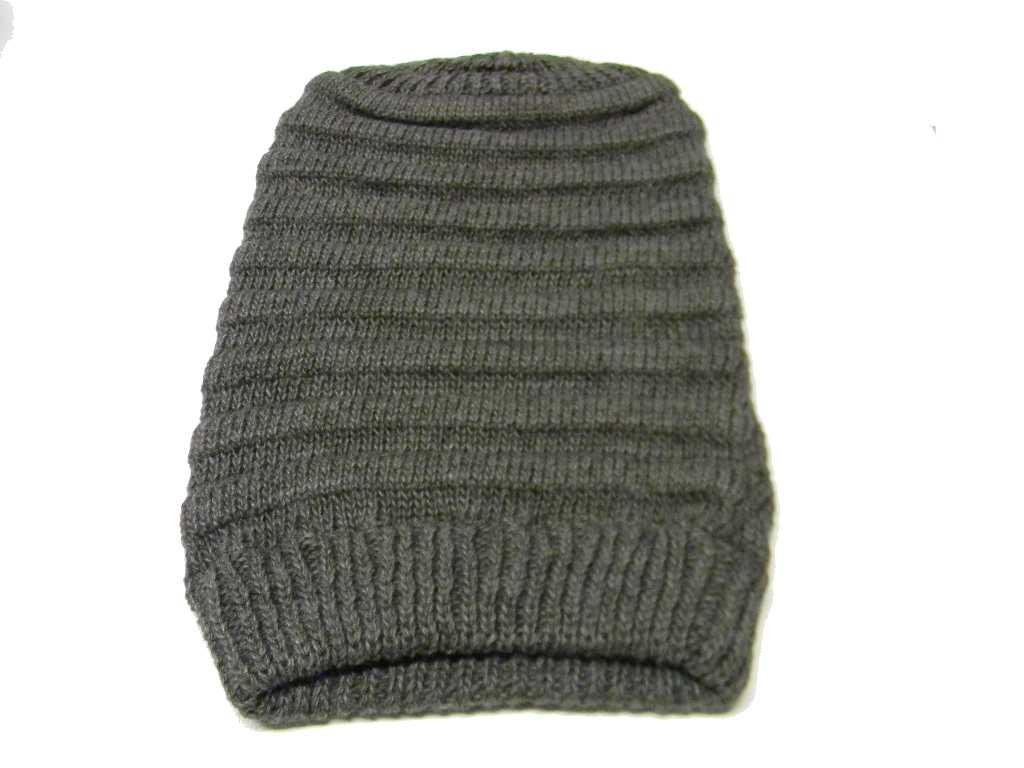 Berretto Lungo Bruco Uomo Donna Rasta Younger Hut Cap Cappello Lana Wool M  Italy 3 3 di 7 ... c3654953d6ac
