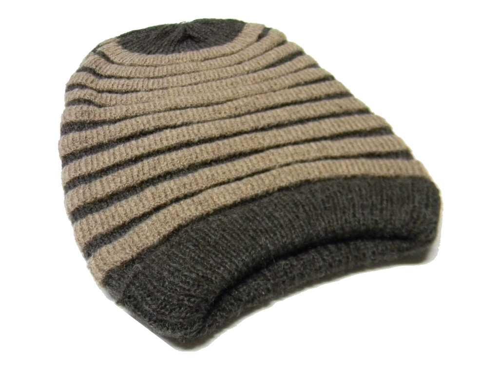 Berretto a bruco uomo beige donna lana lungo rasta cap made italy alta  qualita d99c4c0808e5