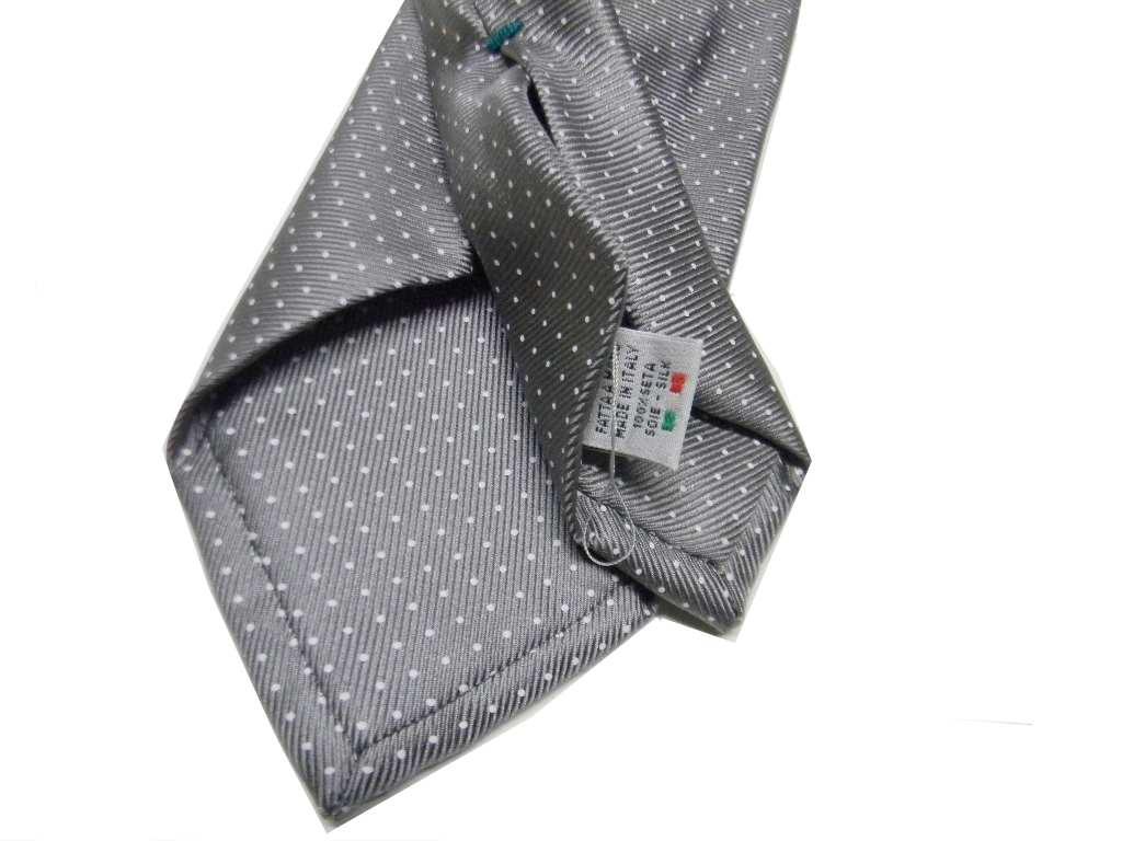 TIE RACK Cravatta 100/% seta stampata tricolore
