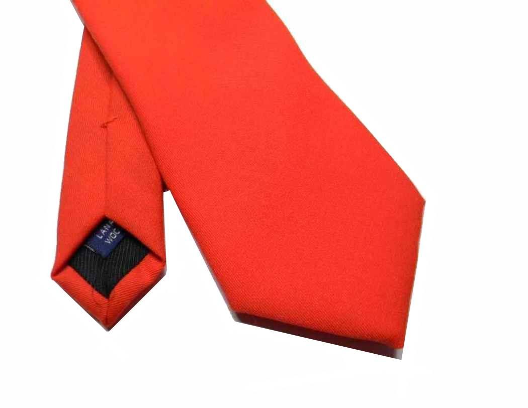 prodotto caldo il più votato reale negozi popolari Dettagli su Cravatta di lana rossa cravatte rosse uomo colore rosso Natale  Varie slim classi