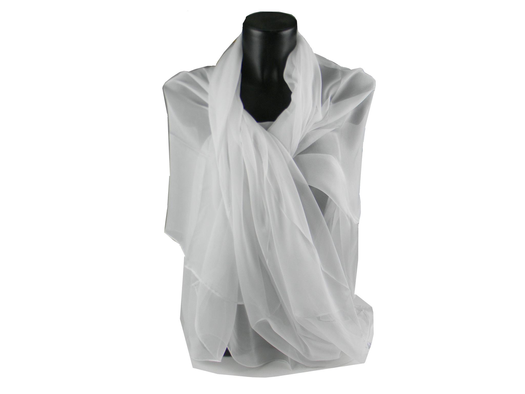 miglior servizio 39062 660e2 Stola elegante liscia raso seta donna cerimonia I AvantGarde