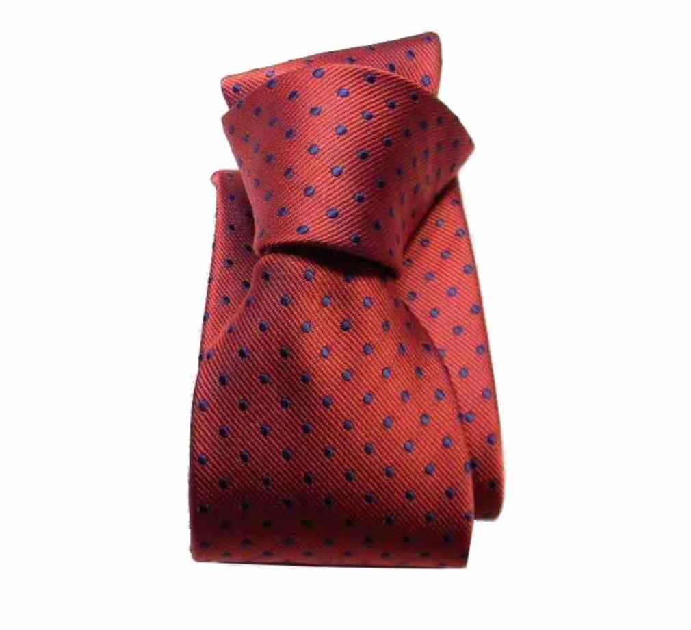 tecniche moderne grande selezione top design Cravatta bordeaux rosso a pois bianchi cravatte rosse a ...