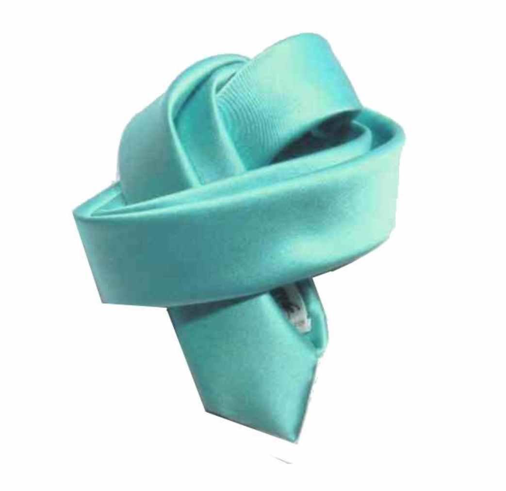 Cravatta bambino turchese Cravattino bimbo made ITALY alta qualità TOP QUALITY