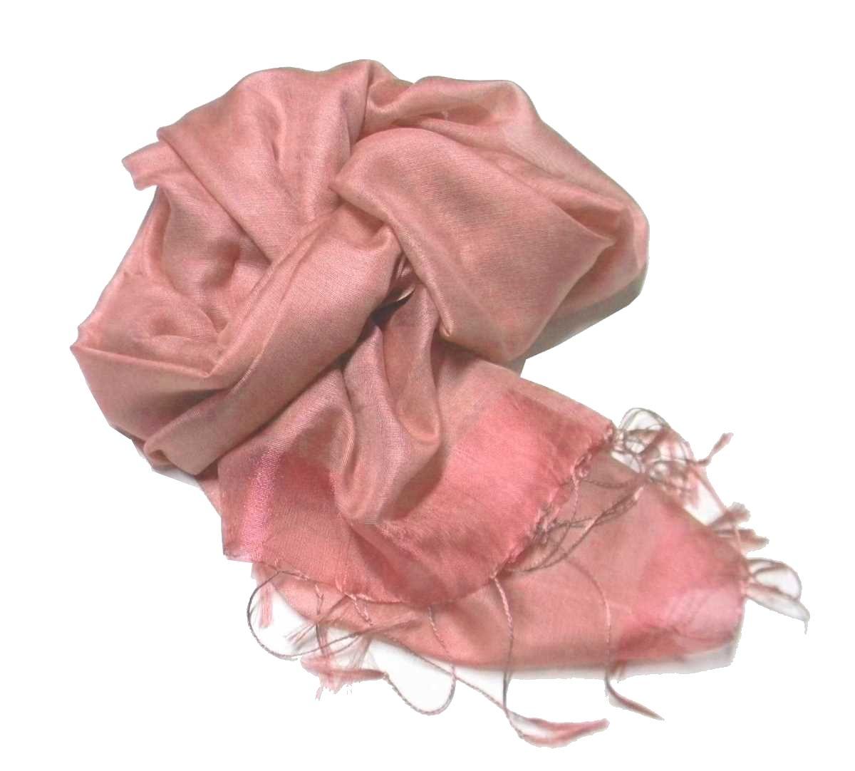vendita calda online 70b10 625ed Stola rosa cipria in tessuto misto seta ideale da cerimonia