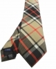 Cravatta lana uomo a quadri tartan beige cravatte in lana english style made ita