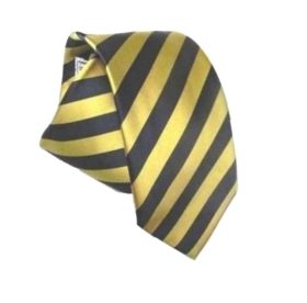 Cravatta a righe blu e gialle pari pari blue giallo classe e stile yellow tie it