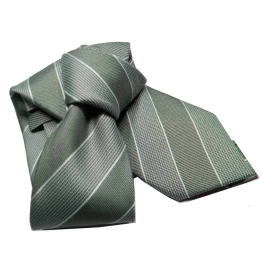 Cravatta verde a righe cravatte rigate verdi idea regal green tie grun krawatten