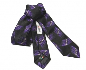 Cravattino nero skinny tie  cr