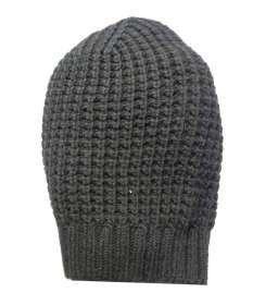 Cappello uomo donna berretto lungo nero rasta misto lana lavorazione nido  d ape 1507794a1c49