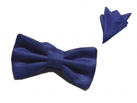 Papillon uomo blu royal scuro