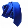 Slim cravate blue royal skinny tie 6 schmale kravatte