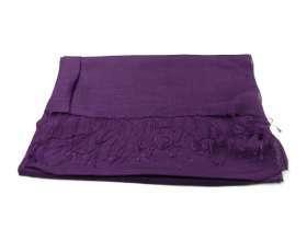 cf9a82874fca86 Stola donna cerimonia scialle elegante coprispalle pashmina viola fusciacca  seta