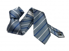 Striped necktie cravatta a rig