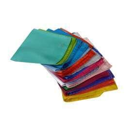 4d662aa2ee Novita fluo uomo nuovi fazzoletti da taschino tanti colori pochette tinta  unita